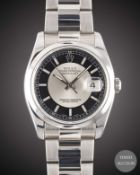 A GENTLEMAN'S STAINLESS STEEL ROLEX OYSTER PERPETUAL DATEJUST BRACELET WATCH CIRCA 2006, REF. 116200