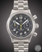 A GENTLEMAN'S STAINLESS STEEL OMEGA DYNAMIC AUTOMATIC CHRONOGRAPH BRACELET WATCH CIRCA 1995, REF.