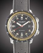 A GENTLEMAN'S STAINLESS STEEL NIVADA GRENCHEN DEPTHOMATIC DEPTH GAUGE AUTOMATIC DIVERS WRIST WATCH