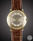 A GENTLEMAN'S 18K SOLID GOLD VACHERON & CONSTANTIN WRIST WATCH CIRCA 1960s, REF. 6126