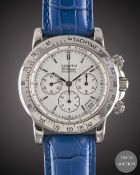A GENTLEMAN'S STAINLESS STEEL ZENITH RAINBOW EL PRIMERO AUTOMATIC CHRONOGRAPH WRIST WATCH CIRCA