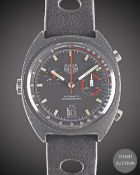 A GENTLEMAN'S PVD COATED HEUER MONZA AUTOMATIC CHRONOGRAPH WRIST WATCH CIRCA 1978, REF. 150.501