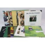 Lot 88 - Vinyl - Folk - Collection of approx 20 LP's to include The Waterboys, Christy Moore, The Wolf Tones,