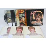 Lot 90 - Vinyl - David Bowie - A collection of 10 LP's and 2 picture discs including some duplicates,