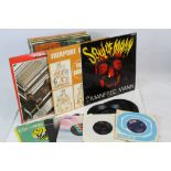 Lot 79 - Vinyl - Pop - Collection of around 15 LP's and 10 45's to include Manfred Mann Soul Of Mann (CLP