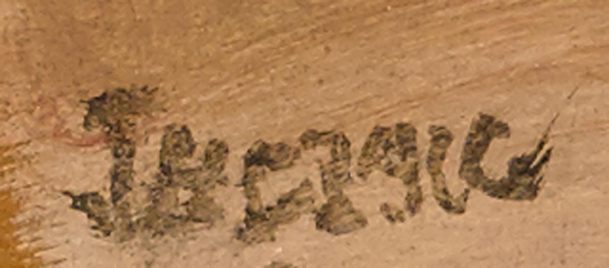 Lot 14 - James Humbert Craig RHA RUA (1877-1944)BARBLEIGH BURN oil on panel signed lower left; inscribed on