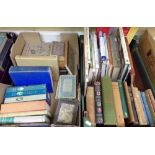 Lot 969 - Two boxes of miscellaneous books