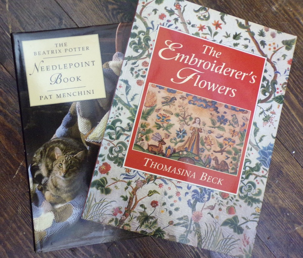 Lot 834 - A quantity of books about embroidery and related subjects (12)