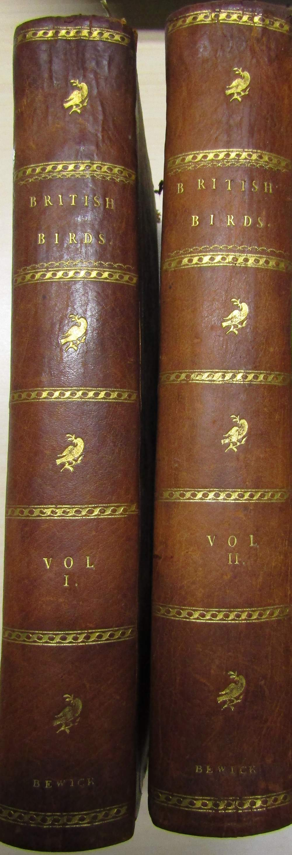 Lot 812 - BEWICK Thomas, A History of British Birds, printed by Edwards Walker, two volumes, 1805, Land and