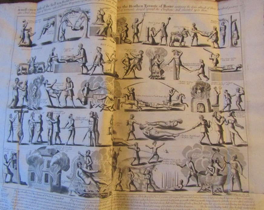 Lot 868 - FOX John - Acts and Monuments of Matters Special and Memorable Happening in the Church, 9th Edition,
