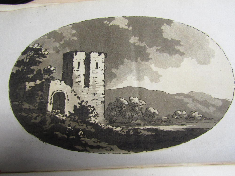 Lot 820 - GILPIN William M.A. - Observations on the River Wye in the Summer of 1770, 2nd Edition 1782, leather