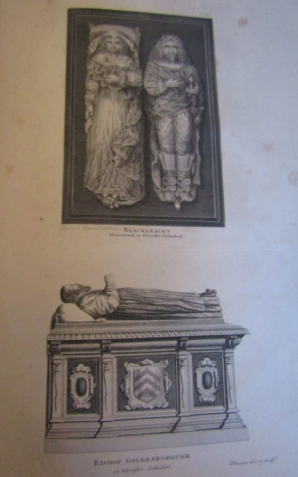 Lot 873 - FOSBROOKE Thomas Dudley - The Original History of the City of Gloucester, printed by John Nichols