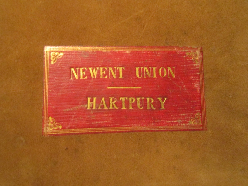 Lot 893 - CASTREE Jos - Newent Union, Terrier and Valuation of the messuages, lands and other Hereditaments