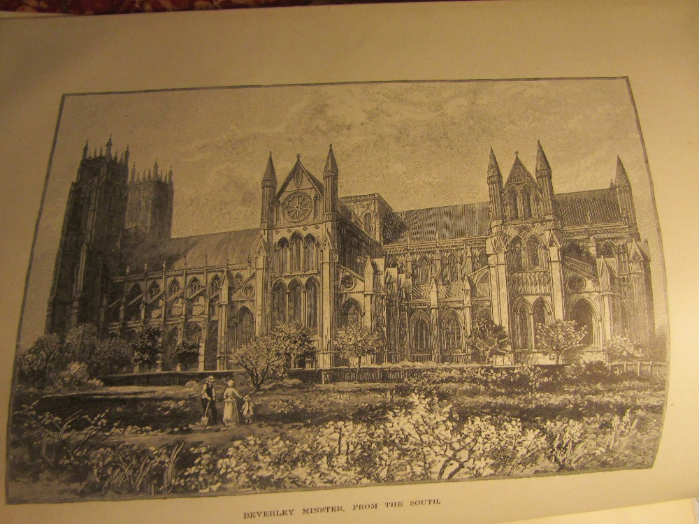 Lot 898 - BONNEY T G - Cathedrals, Abbeys & Churches of England & Wales, Cassel & Co, two volumes, 1891