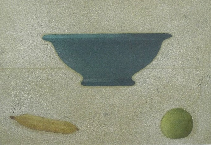 Lot 77 - Robert Chandler (B.1952) - Two 'Still Life IV' & 'Still Life III', Mixed Media, 45 x 60cm, framed