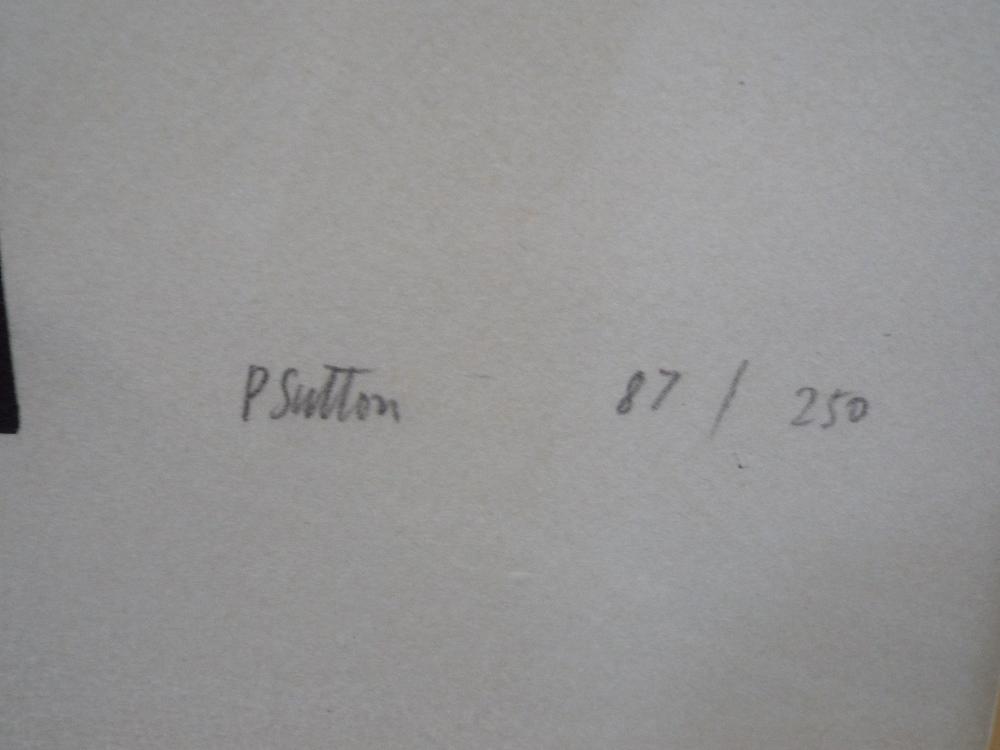 Lot 89 - Philip Sutton (B.1928) - 'Great Australian Bright', signed, limited 17/250, screen print, 50 x 51cm,