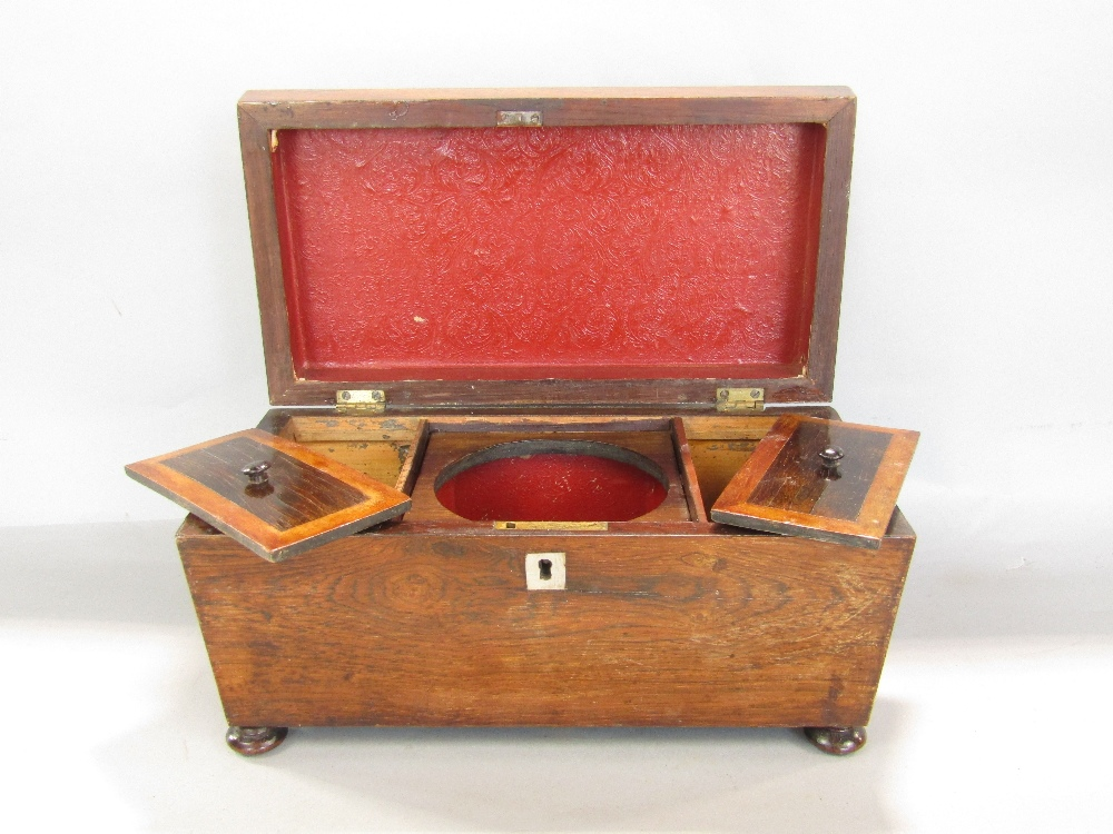 Lot 768 - A miscellaneous collection of 19th century and later boxes including a Regency rosewood