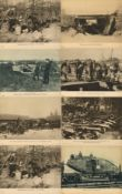 Militaer,WK I,sonstigeWK I Lot mit über 60 Bilder ca. 24 x 30 cm teils tolle Motive I-II
