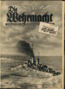 III. Reich Propaganda,Dokumente,BuecherBuch WK II Illustrierte Die Wehrmacht gebundene Ausgaben