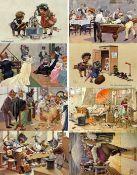 Ansichtskarten,AK-Kuenstler,A. Thiele (allgemein)Thiele, Arthur Lot mit 21 Künstler-Karten meist