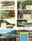Musik, Lieder,Lieder-Karte Sammlung Weserlied mit über 600 Karten 1900 bis 70'er Jahre I-II