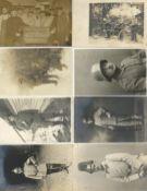 Militaer,WK I,sonstigeWK I Partie von circa 130 Fotokarten I-II