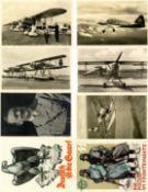 Militaer,WK II,sonstigeWK II Lot mit über 30 Ansichtskarten dabei 1 Arbeitsbuch