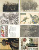 Militaer,WK I,sonstigeWK I Partie von circa 500 Ansichtskarten I-II