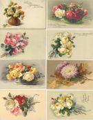 Kunst u. Kultur,Berühmte Maler,sonstigeKlein, Catharina Partie von circa 50 Ansichtskarten alle