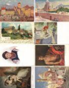 Kunst u. Kultur,Berühmte Maler,sonstigeKünstler Partie von über 800 Ansichtskarten I-II