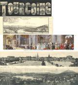 Ansichtskarten,Sonderkarten,sonstigeKlappkarten Panoramen Partie von circa 130 Ansichtskarten I-II