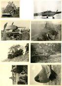 Militaer,WK II,sonstigeWK II tolle Partie mit circa 600 Fotos dabei viel Technik I-II