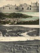 Ansichtskarten,Sonderkarten,sonstigeKlappkarten Panoramen Europa Partie mit über 140 Stück