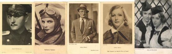 Kunst u. Kultur,Film,SchauspielerSchauspieler Partie mit circa 530 Ansichtskarten I-II