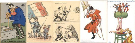 Geschichte, Deutsche Geschichte, Propaganda I. WKPropaganda WK I Album mit circa 190