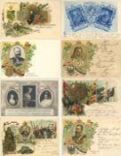 Geschichte,Deutscher Adel,allgemeinAdel Partie mit circa 120 Ansichtskarten vor 1945 dabei viele