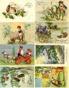 Ansichtskarten,Glueckwunsch,PfingstenPfingsten Partie mit über 40 Ansichtskarten I-II