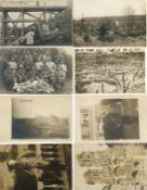 Militaer,WK I,sonstigeWK I Partie von circa 600 Ansichtskarten oft mit Feldpost I-II