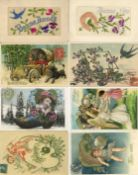Ansichtskarten,Glueckwunsch,sonstigeGlückwunsch Partie mit über 560 Ansichtskarten dabei viele