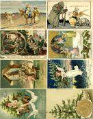 Ansichtskarten,Glueckwunsch,WeihnachtenWeihnachten Partie mit circa 60 Ansichtskarten I-II
