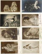 Kunst u. Kultur,Film,SchauspielerSchauspieler Partie mit circa 80 Ansichtskarten teils mit