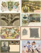 Geschichte,Deutscher Adel,allgemeinAdel Partie mit circa 140 Ansichtskarten meist 1900 bis 1918 sehr