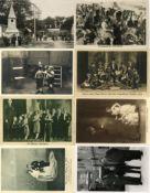 Kunst u. Kultur,Zirkus,Variete Liliputaner Lot mit circa 50 Foto-Karten u. Fotos u. 1
