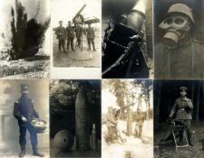 Militaer,WK I,sonstigeWK I Partie von circa 100 Foto-Aks I-II- - -23.80 % buyer's premium on the