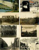 Militaer,WK I,sonstigeWK I Partie von circa 150 Ansichtskarten, oft mit Feldpost I-II- - -23.80 %