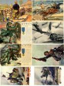 III. Reich Propaganda,sonstige Karten,Propaganda WK II ITALIEN Partie von über 90 Ansichtskarten I-