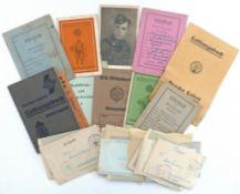 III. Reich Propaganda,Organisationen,SSSS WK II Nachlass eines SS Sturmmannes u.a. Feldpostbriefe