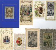 Religion,Christliche,HeiligeHeiligenbilder Sammlung von circa 6000 Stück I-II- - -23.80 % buyer's