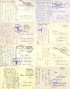 Militaer,WK II,FeldpostFeldpost WK II circa 100 Ansichtskarten I-II- - -23.80 % buyer's premium on