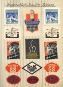 Reklame/Werbung,Marken,sonstigeVignette Siegelmarken Etiketten usw. Lot von einigen hundert Stück
